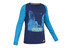 Salewa Giri CO M L/S Men's Shirt deep blue